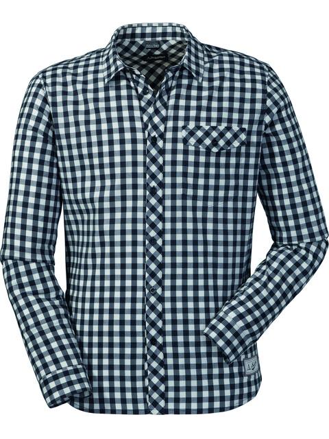 Schöffel Miesbach2 Langærmet T-shirt Herrer blå